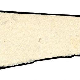 1862 Sardegna 5c. verde giallastro (N°13Da) + segnatasse per giornali di Lombardo Veneto (2Kr.) vermiglio (N°3)