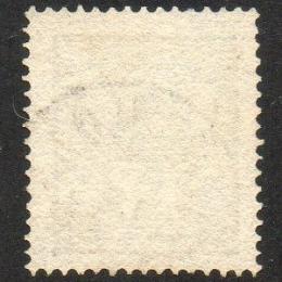 1862 Svezia: leone sdraiato 17ö grigio ardesia (N°14)